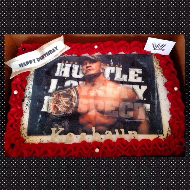 John Cena Cake Cakes Pinterest John cena and Cake