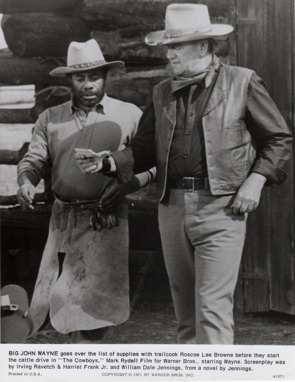 john & wayne mark rydell 'the cowboys' loved that movie. | #1 - john