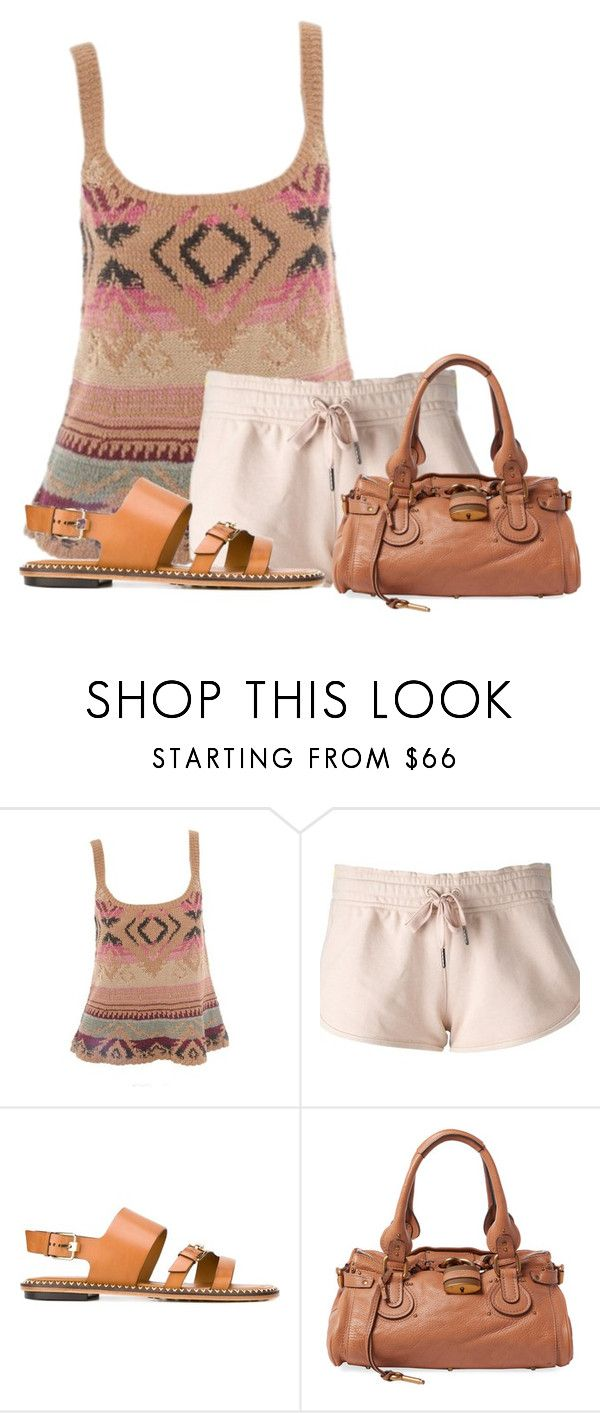"""""""Untitled #12996"""" by nanette-253 ❤ liked on Polyvore featuring Ralph Lauren Blue Label, adidas, Tod's and Chloé"""