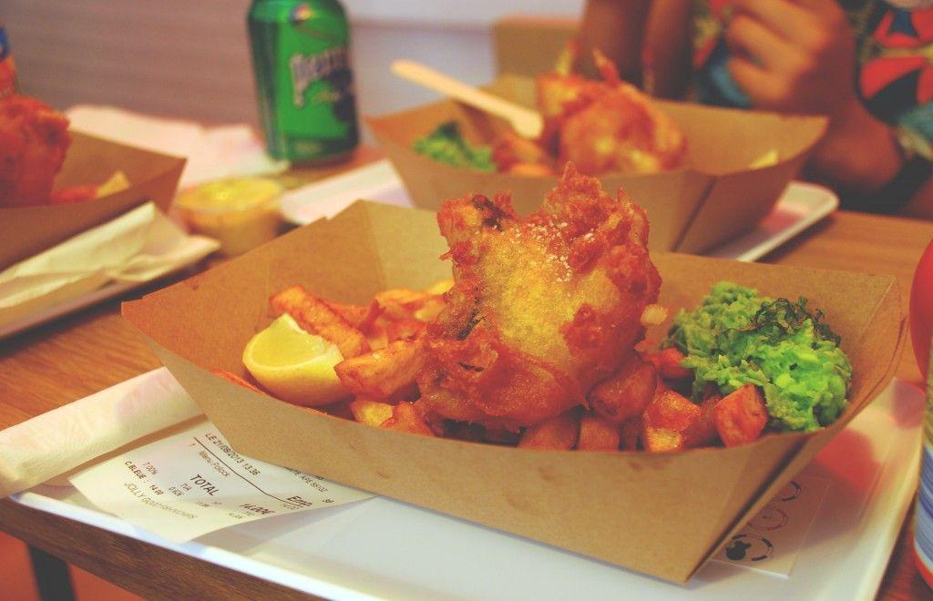 poissons frites