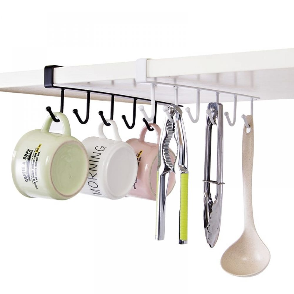 Hanging Kitchen Storage Rack For Cups Buy Kitchen Goods Online At Kitchenshinny Kitchen Storage Rack Functional Kitchen Storage Under Shelf Storage
