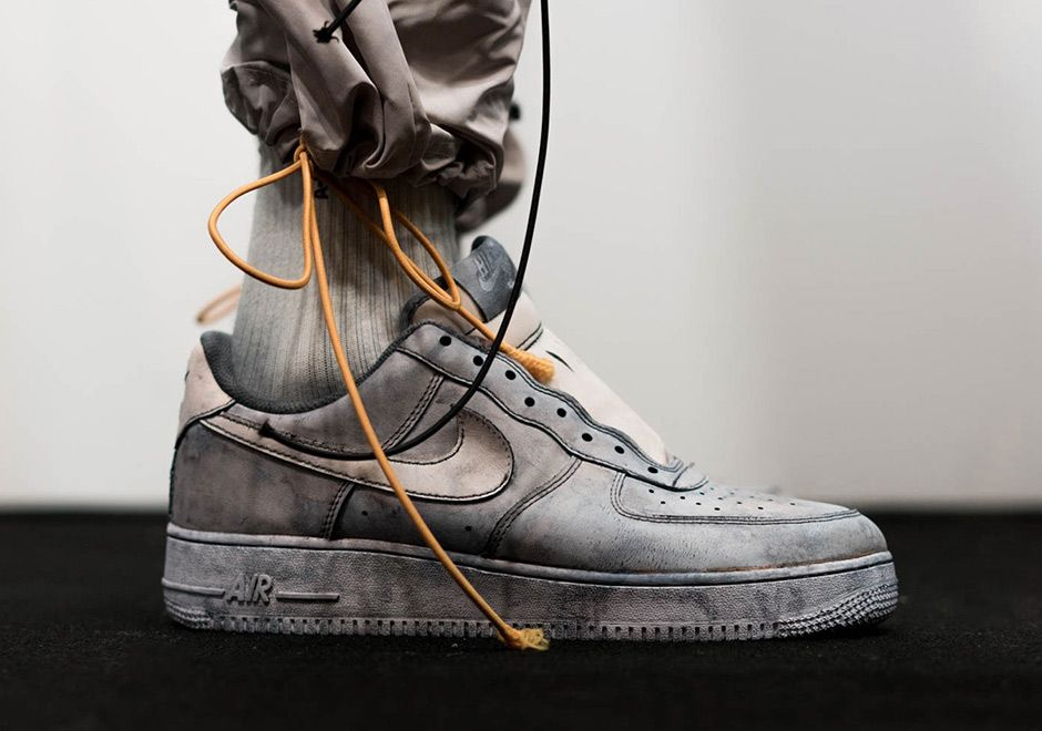best sneakers 36ca7 d1b18 sneakers news A-COLD-WALL Reveals Nike Air Force 1 Low Bespoke
