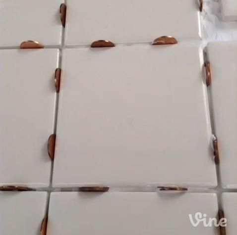 Setting Tiles Use Pennies As Spacers They Re Easy To Remove Lowesfixinsix Tile Spacers Household Hacks Diy Home Improvement