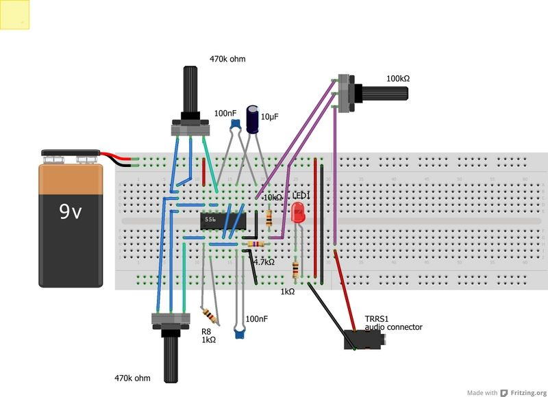 Another Atari Punk Console Schematic Electronics Projects Rhpinterest: Atari Wiring Diagram At Elf-jo.com