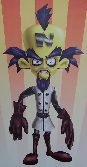 Crash Bandicoot S Arch Enemy Dr Neo Cortex