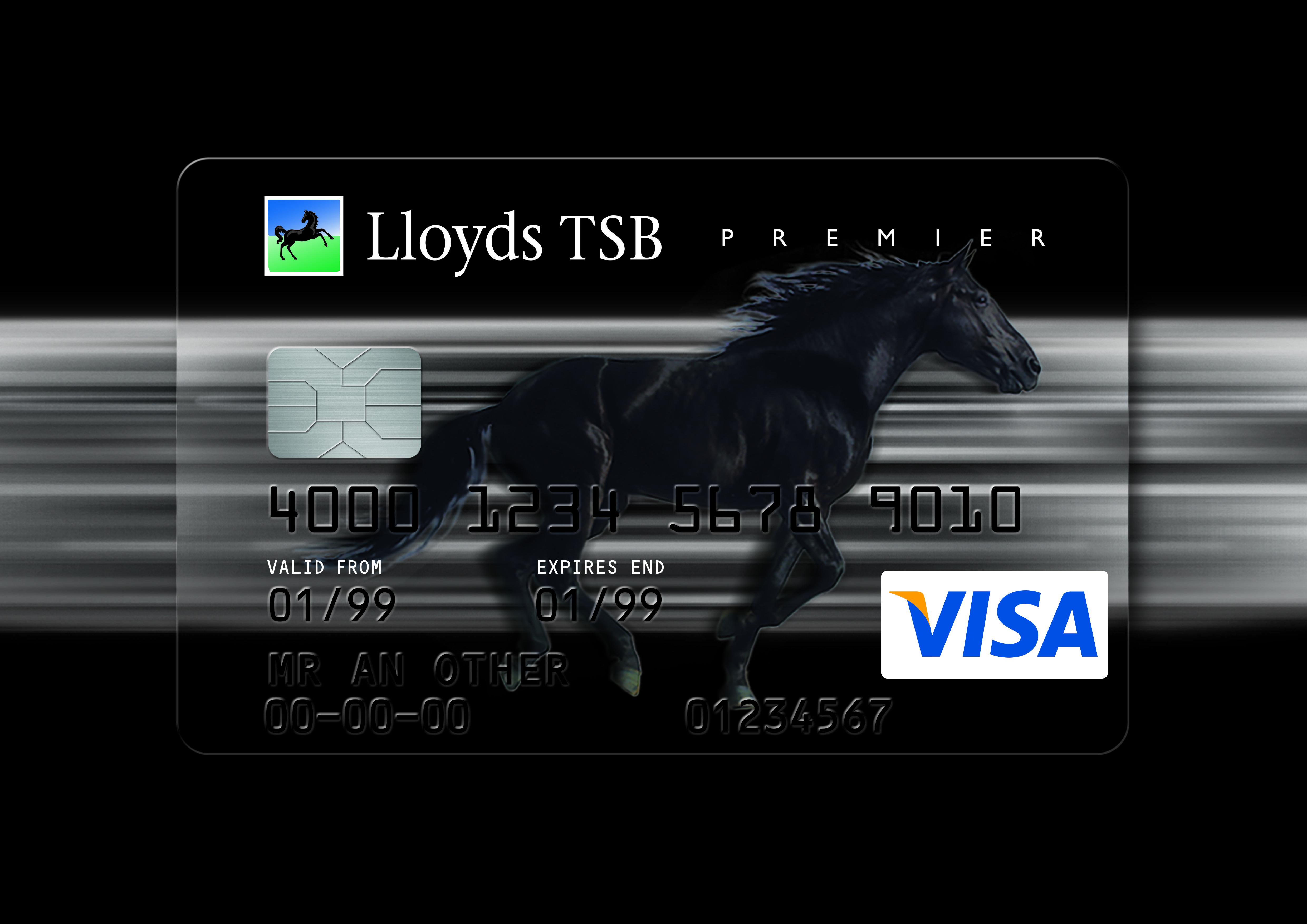 Lloyds Tsb Credit Card Redesign Branding Design Brand Colors Lloyd