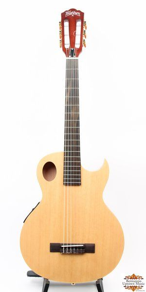 Pin On Nylon String Electric Acoustic