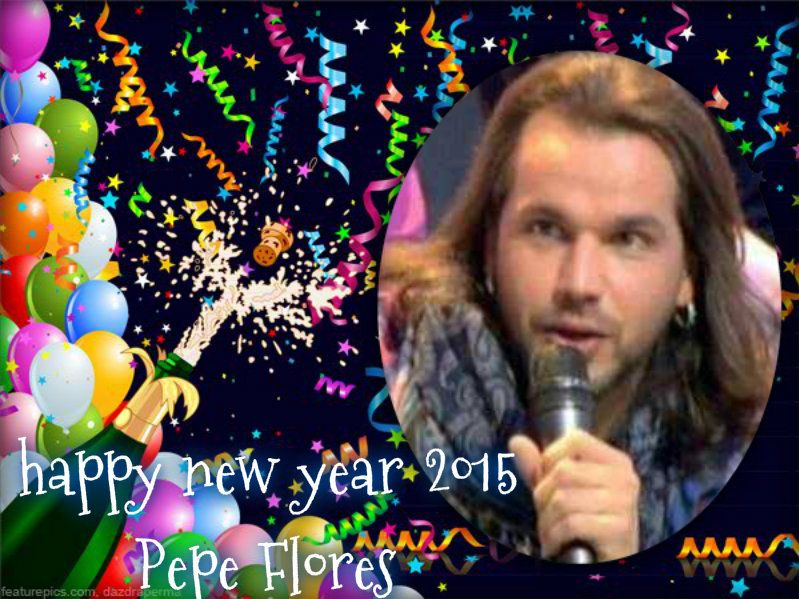 buenos dias @pepeflores1306 feliz año nuevo 2015 que dios te bendiga te deseo todo lo mejor mucha salud trabajo exito dinero suerte etc. besos