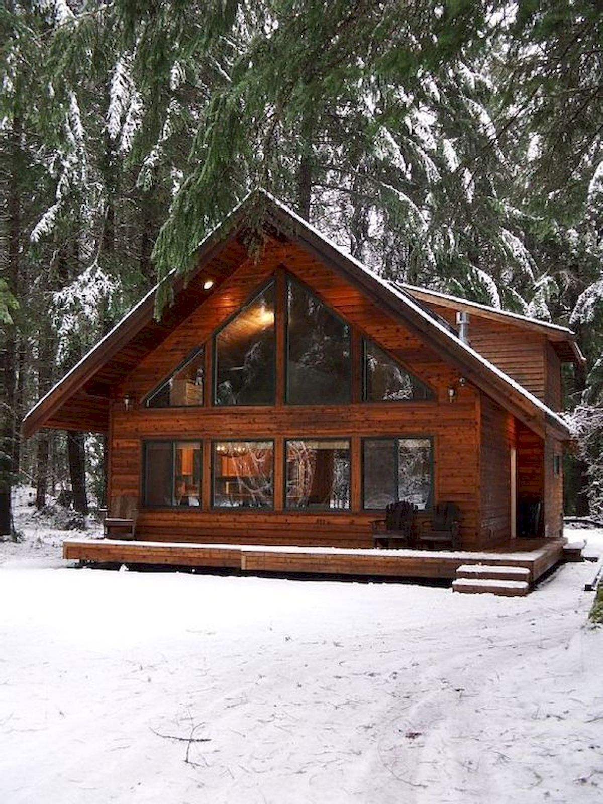 70 Fantastic Small Log Cabin Homes Design Ideas #smallhomes