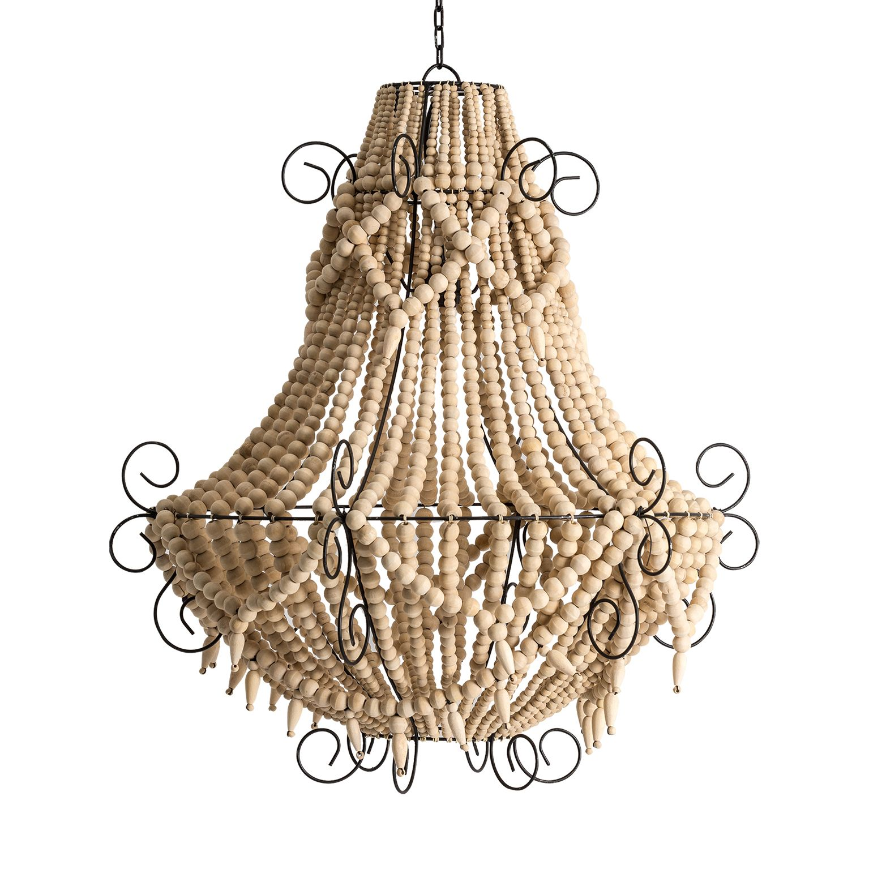 de Lámpara de de Vicalhome techo de madera bolas I9WE2DH