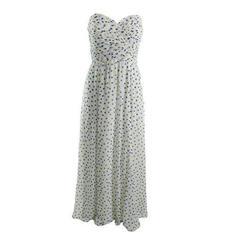 Lauren Ralph Lauren Womens Ruched Prom Evening Dress Ivor…