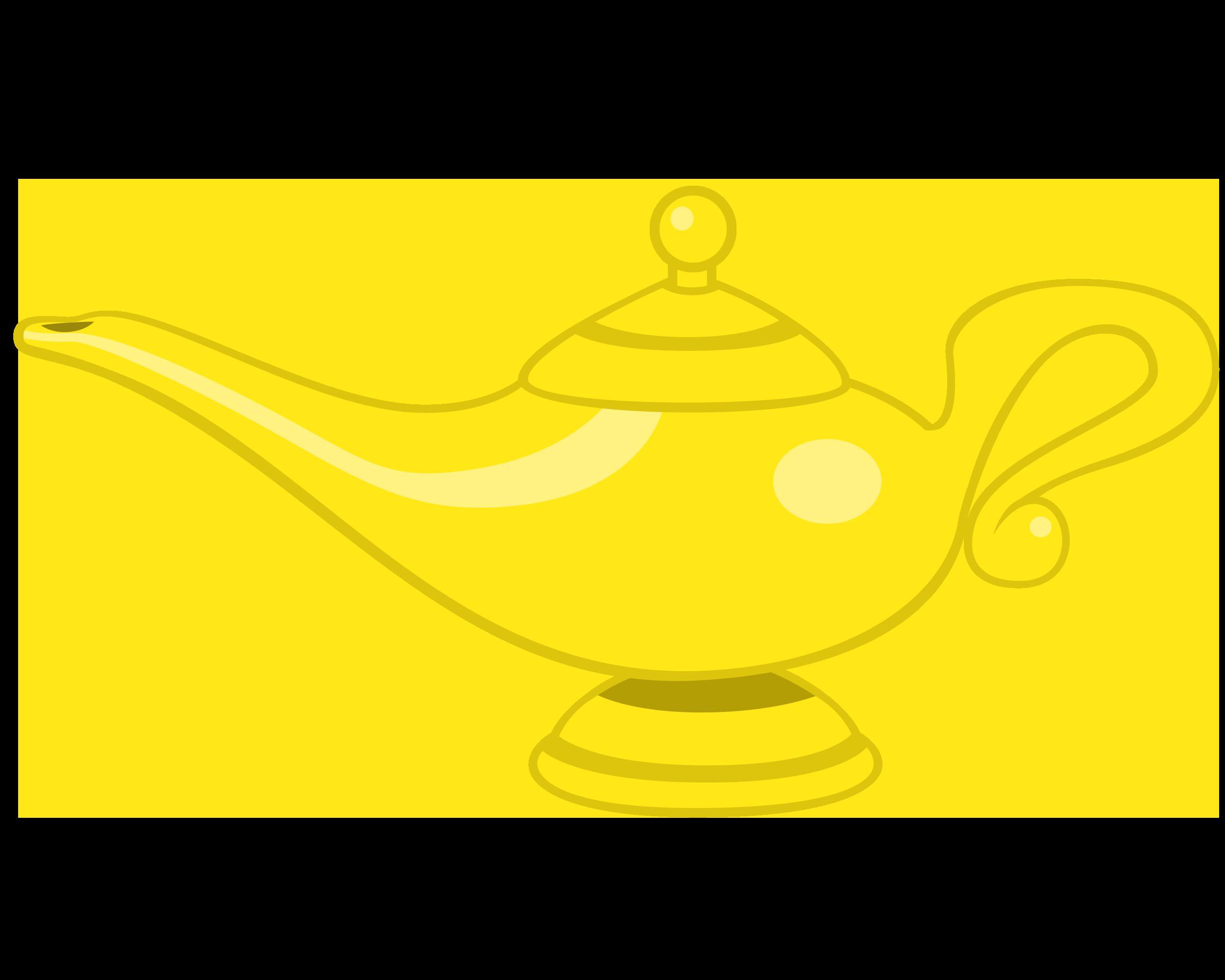 Genie Lamp By Navitaserussirus On Deviantart Lampada Magica Png Lampada