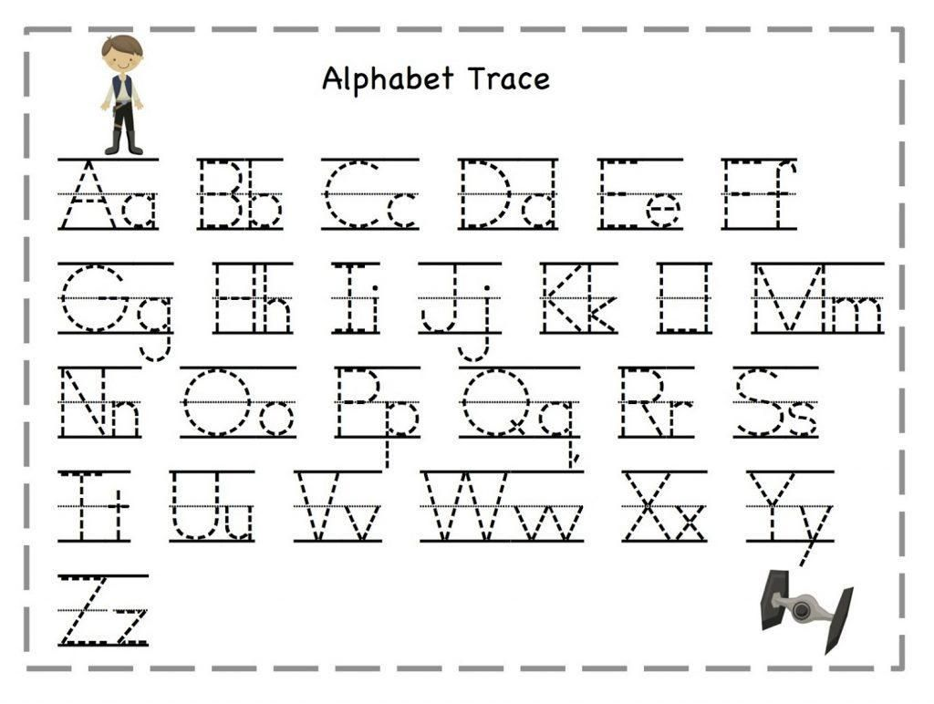 Free Traceable Alphabet Worksheets 2 In