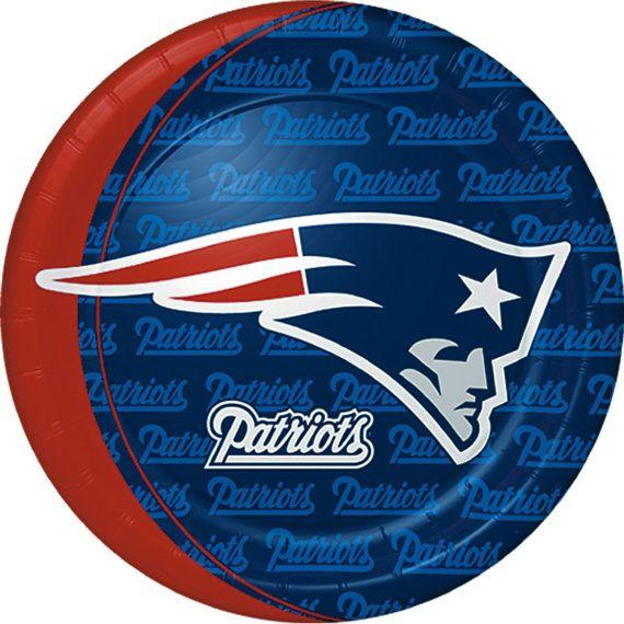 New England Patriots Edible Cake Topper