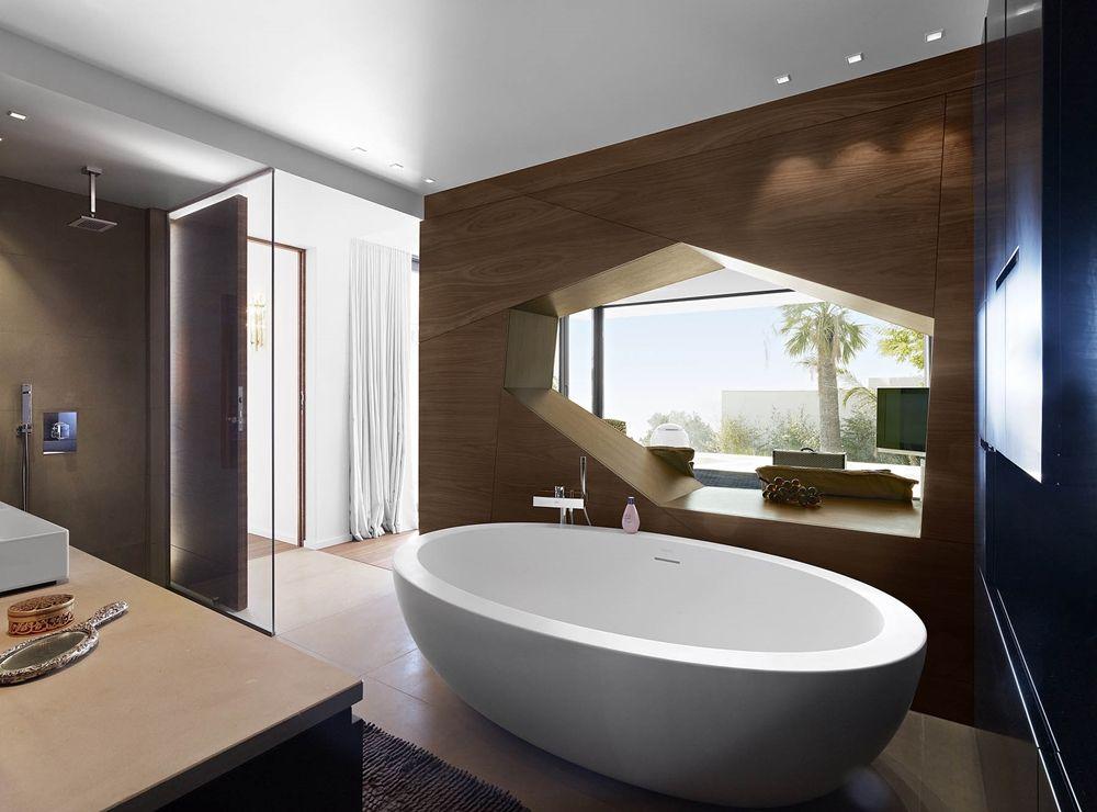 Modern bathroom by TOGU architecture