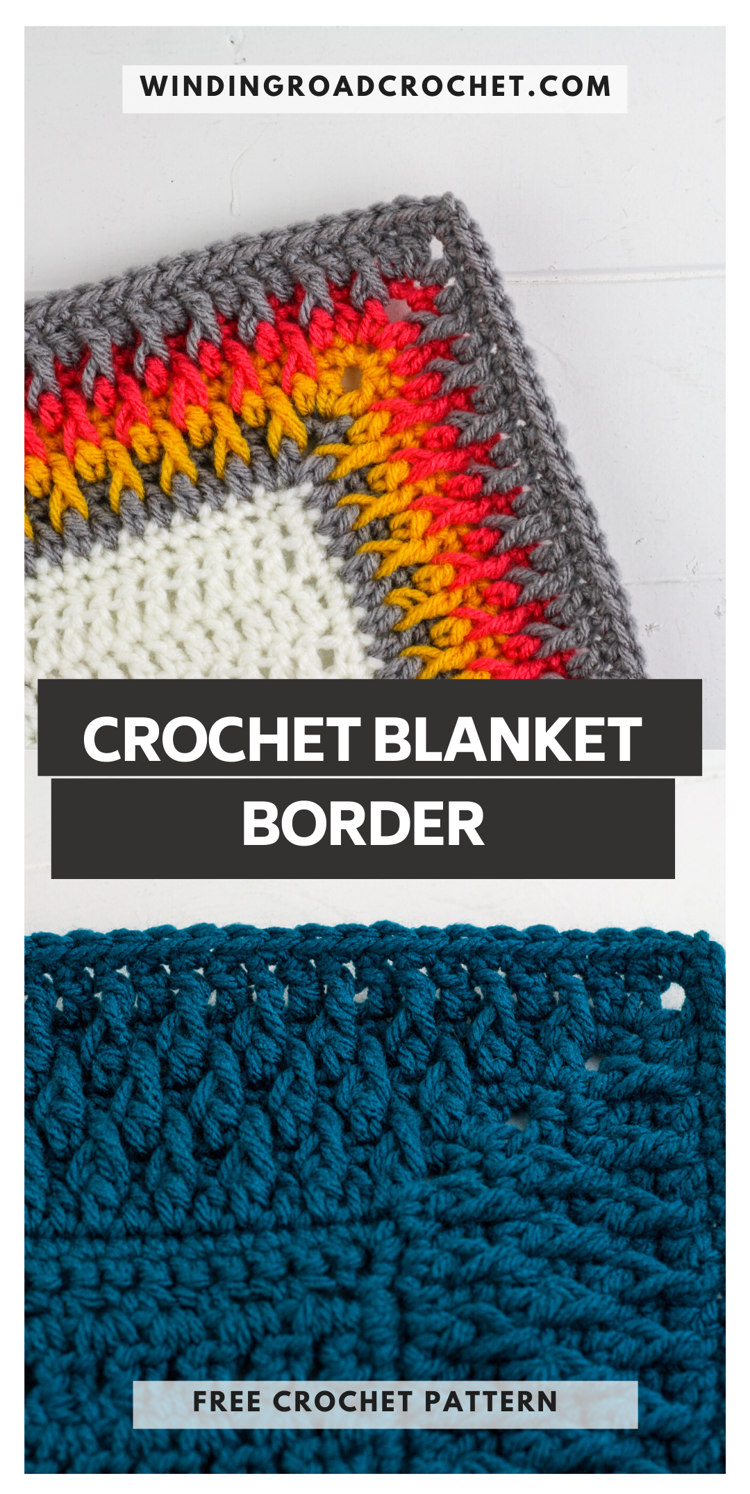 Free Crochet Blanket Border
