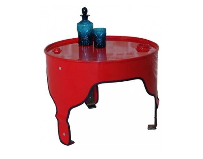 Belfast-based designer transforms oil barrels into bright furniture : TreeHugger