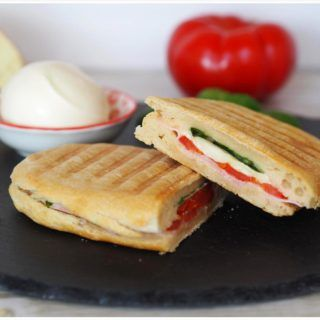 Photo of Home-made panini bread & preparation in the contact grill – Food & Travel blog