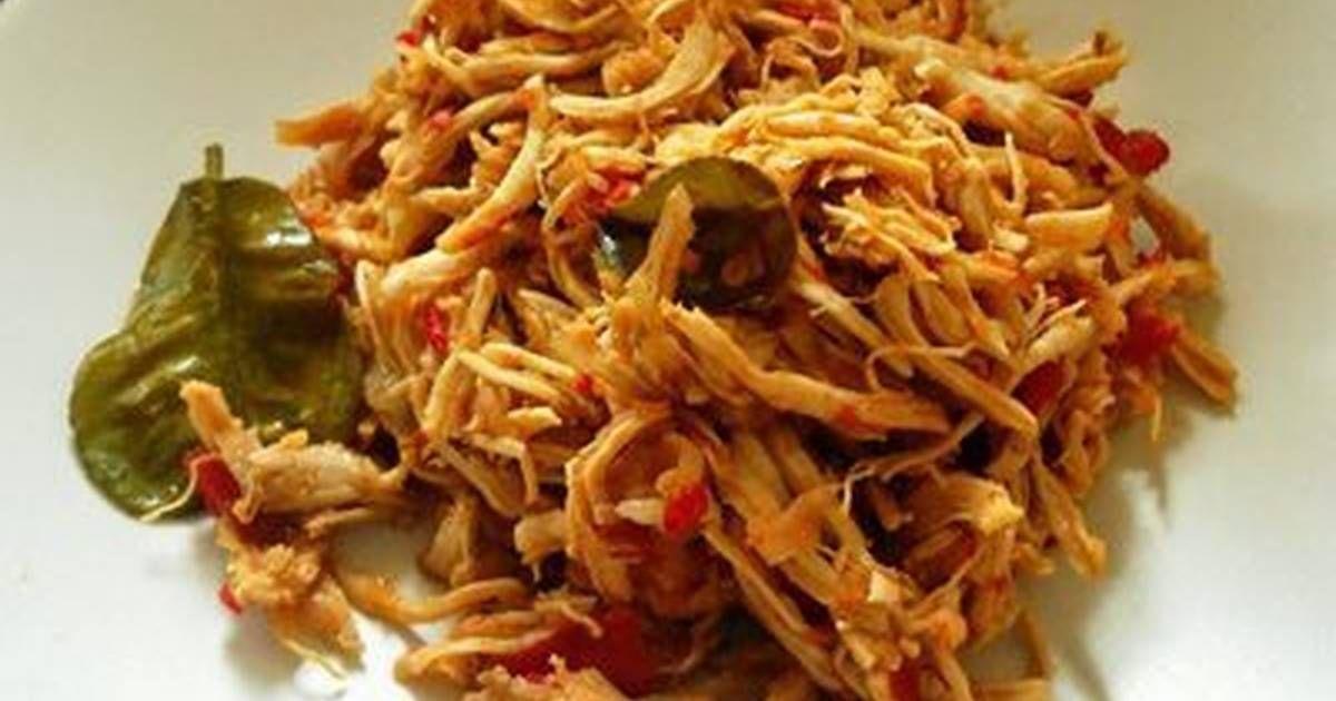 Resep Ayam Suwir Oleh Nilam Anjar Sari Resep Resep Ayam Resep Resep Masakan