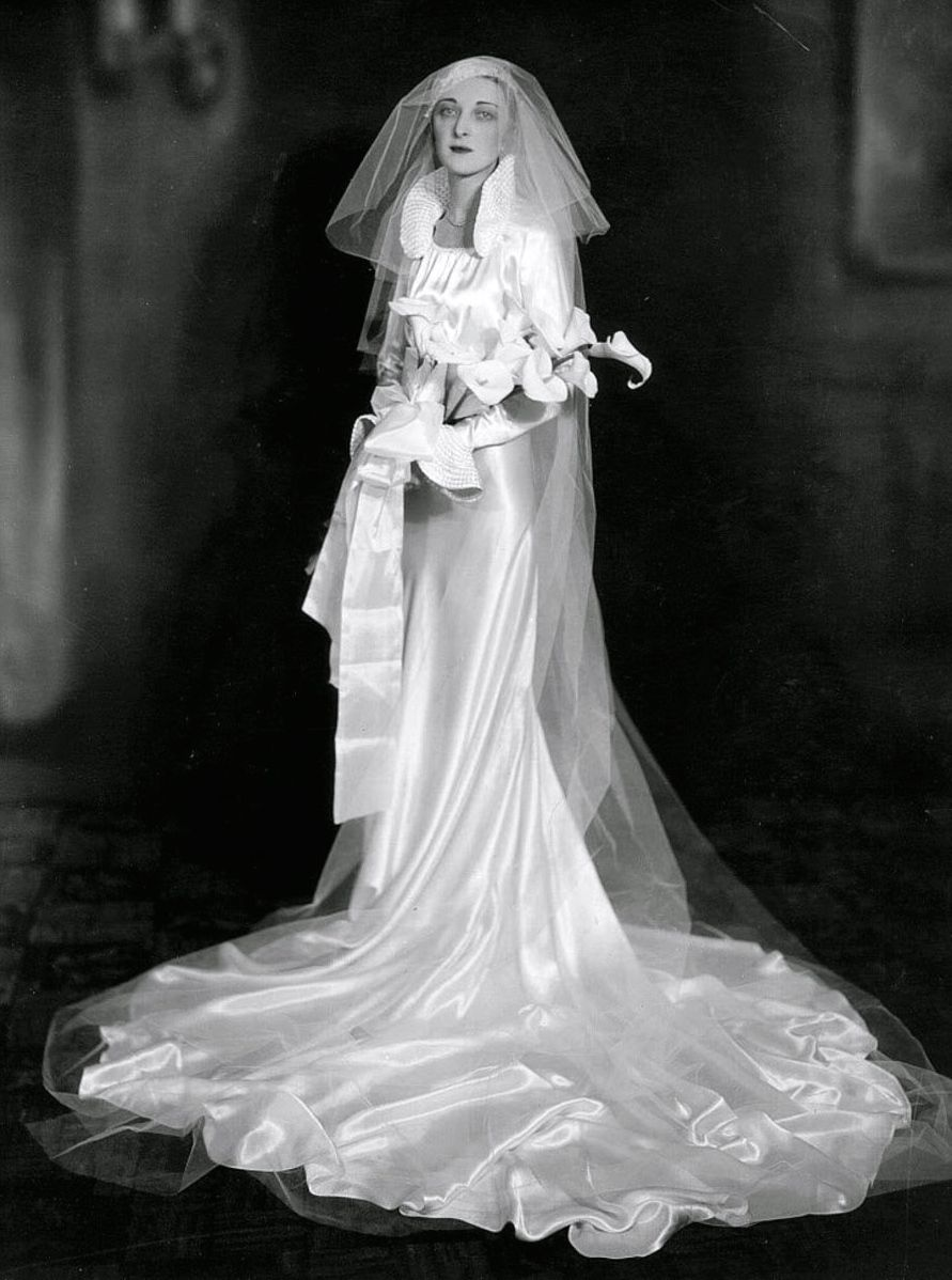 Pin By 1930s/1940s Women's Fashion On 1930s Wedding