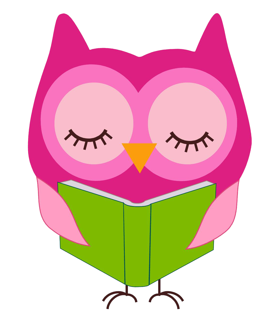 Purple flowers clip art border cliparts co - Owl Reading Clip Art Cliparts Co