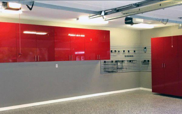 Traditional Off White Grey Painting Garage Walls Garage Pinterest Garage Walls