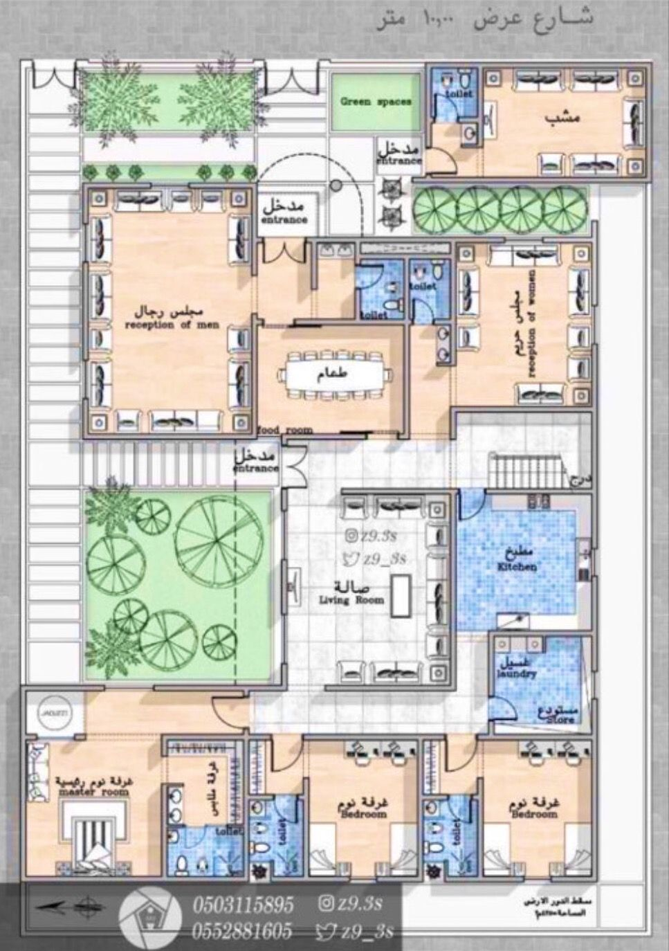 Residential House Layout Plans Architectural Floor Plans Model House Plan
