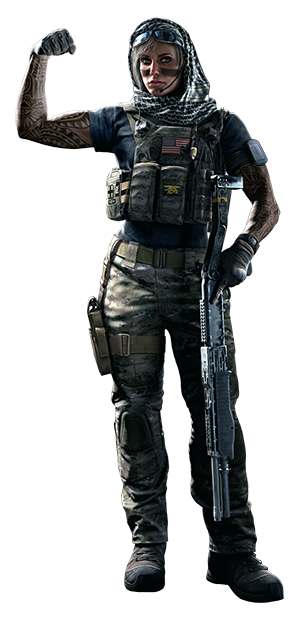 Tom Clancy S Rainbow Six Siege Operators Siege Operators Tom Clancy S Rainbow Six Warrior Woman