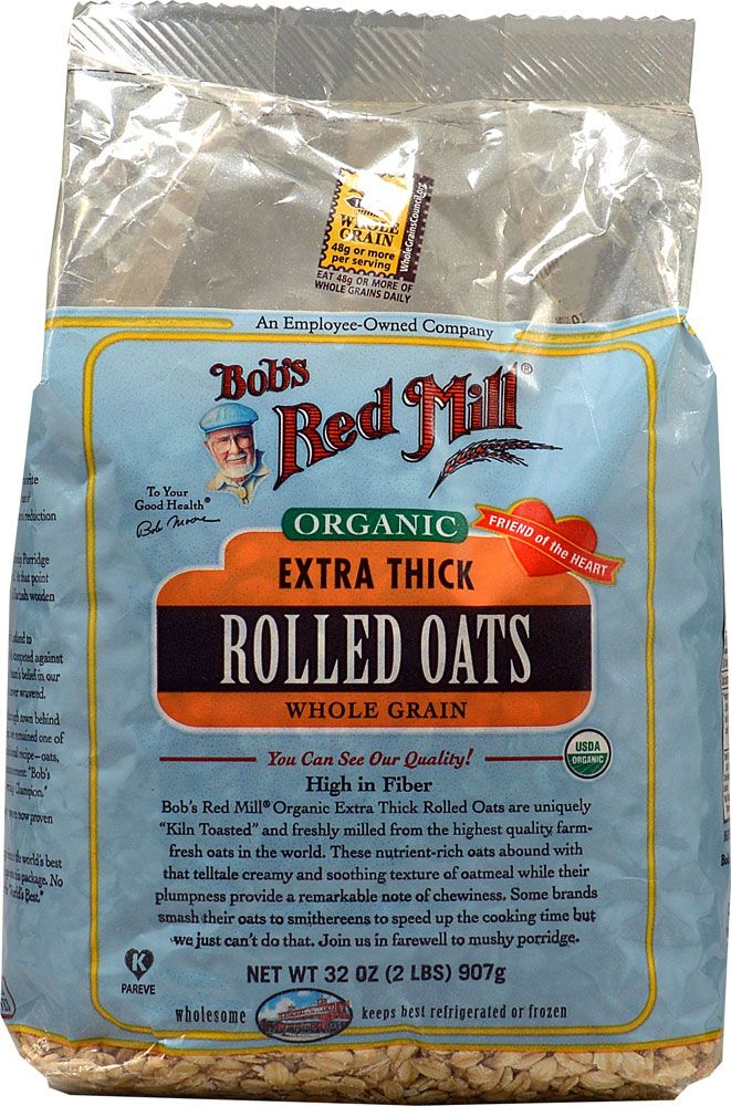 Bob's Red Mill Organic Extra Thick Rolled Oats One of my
