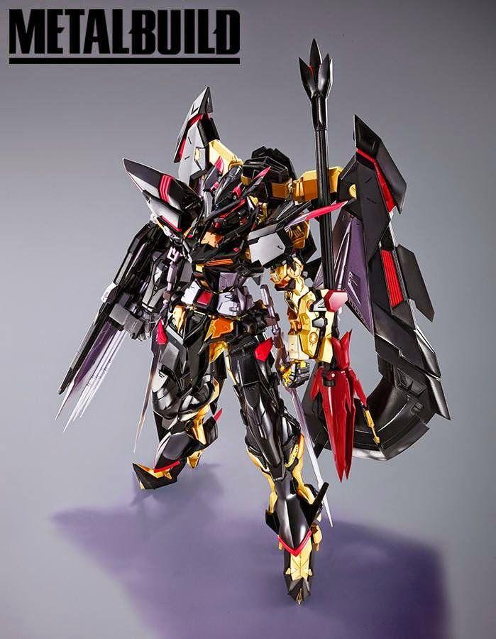 METAL BUILD Gundam Astray Gold Frame Amatsu Mina - New Images | Ang ...