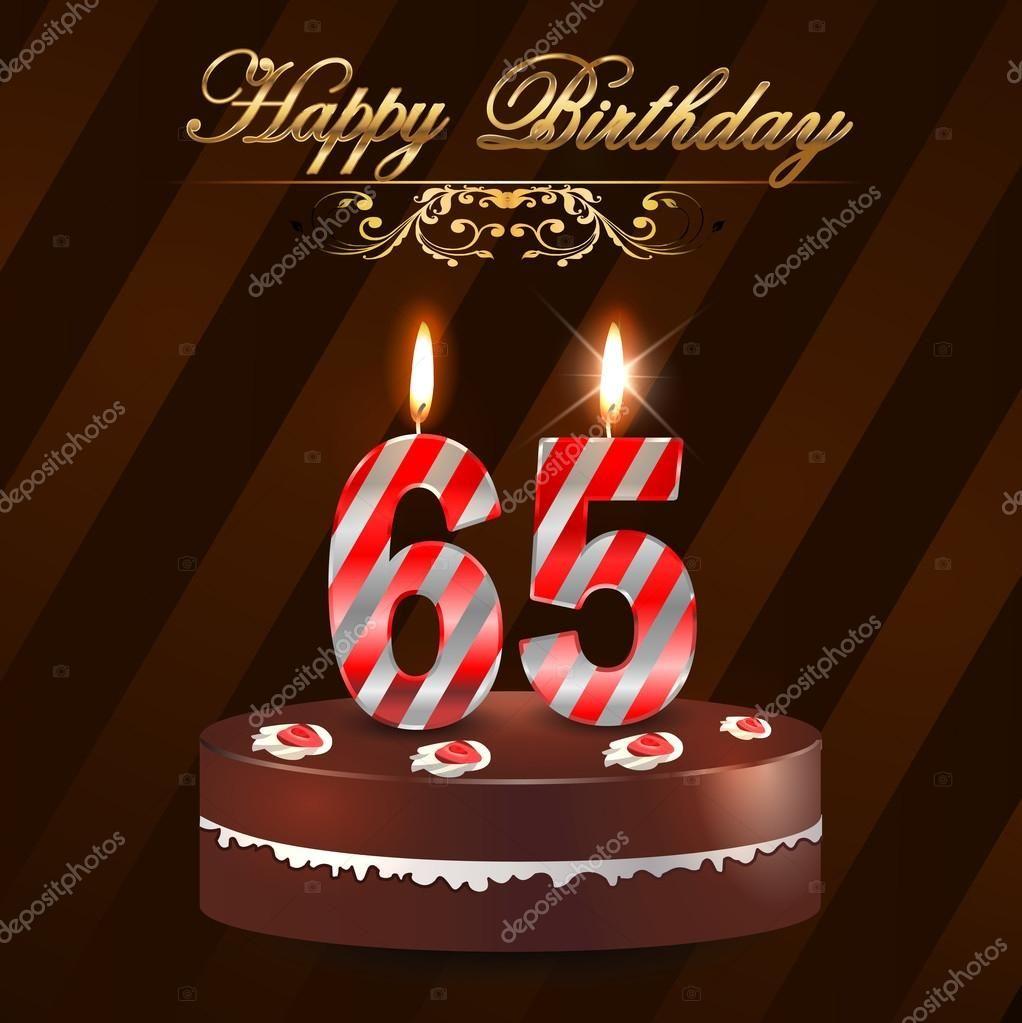 Bildergebnis Fur 65 Geburtstag Alles Gute Zum Geburtstag Kuchen