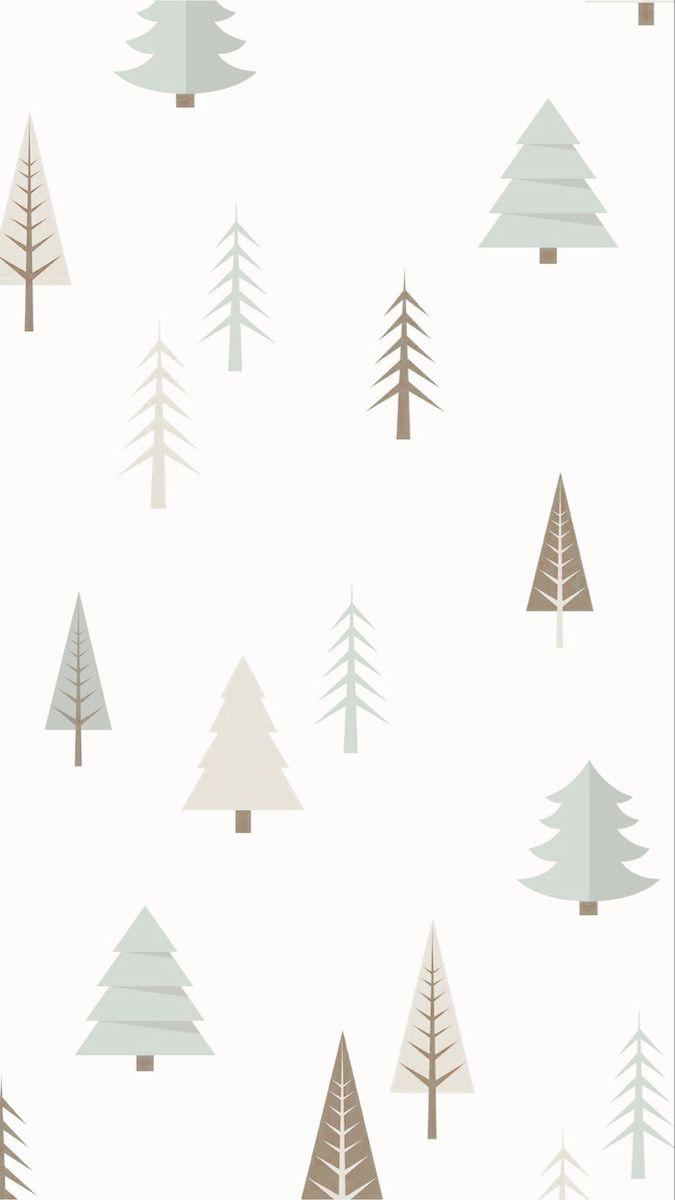 Colorful Fabrics Digitally Printed By Spoonflower Winter Night Grey And Beige Big Xmas Wallpaper Christmas Phone Wallpaper Cute Christmas Wallpaper