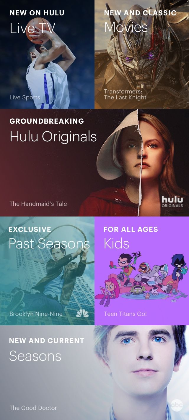 Stream TV and Movies Live and Online Hulu Streaming tv