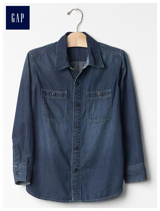 1969 denim carpenter shirt