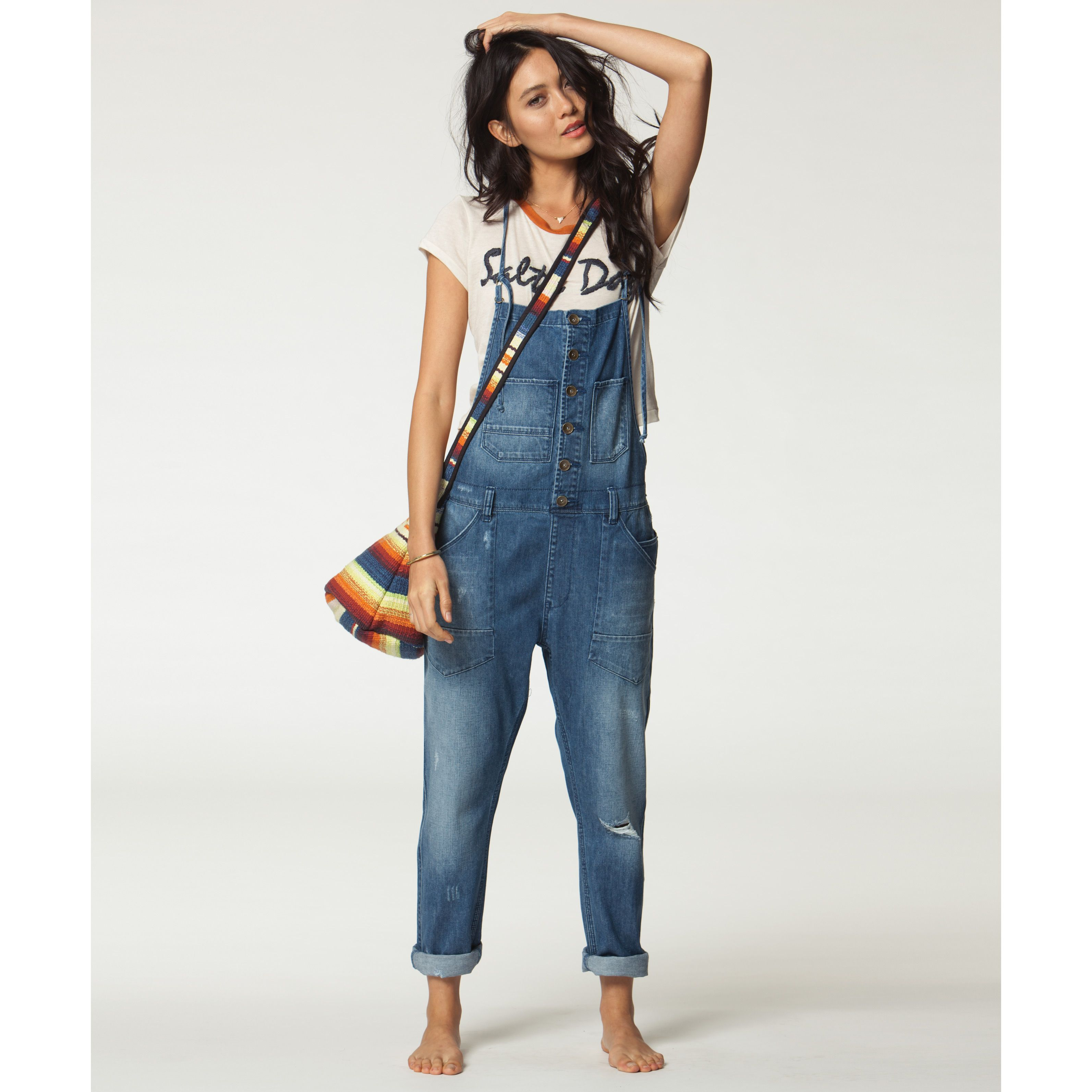 5bea1a468 Over It All Denim Overalls