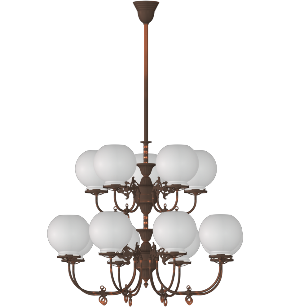 Room South S Late Victorian Gas Style Chandelier A5052