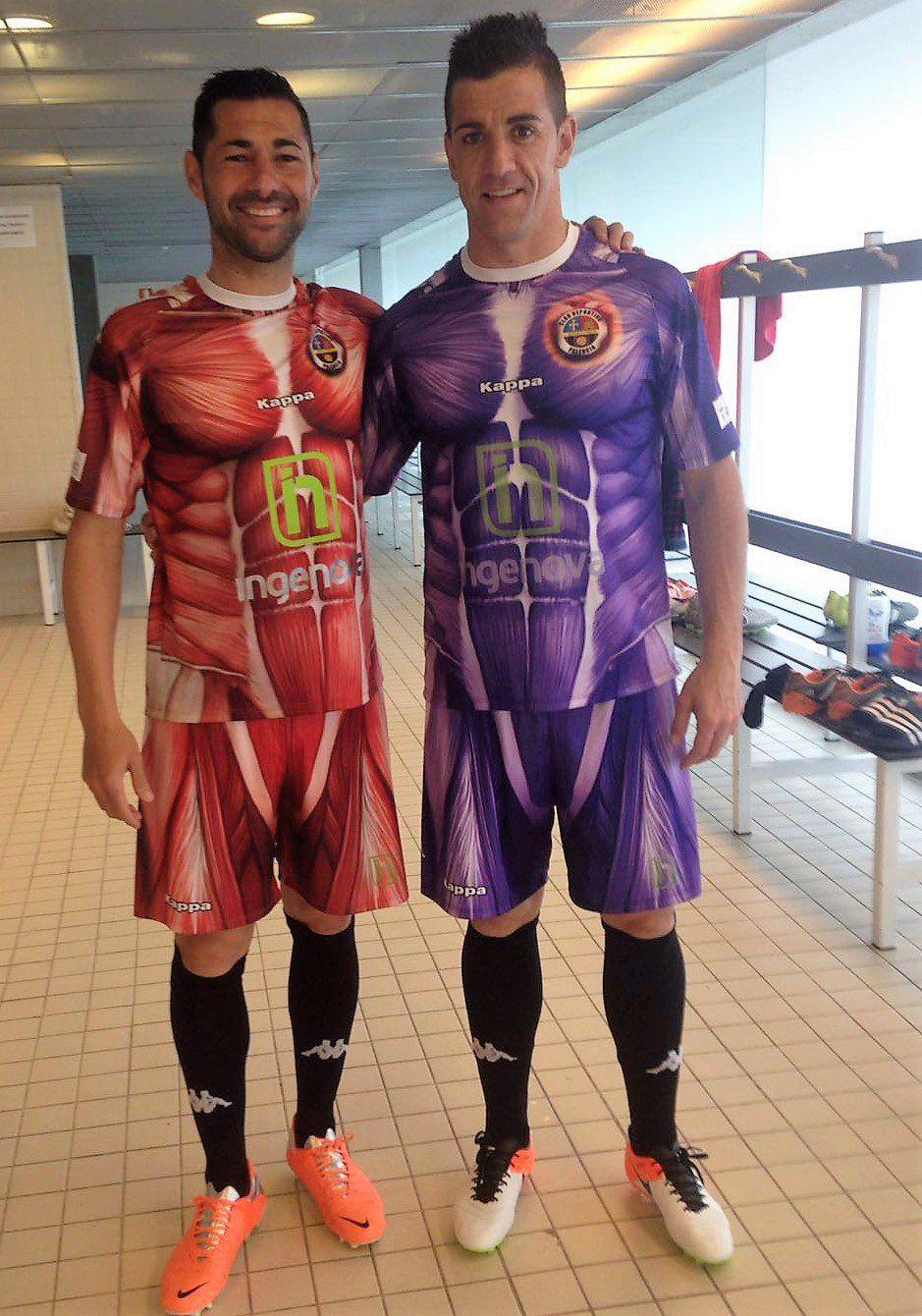 Club Deportivo Palencia presenting the weirdest jerseys I