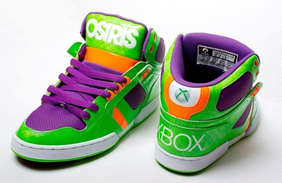 XBOX Osiris Shoes   Osiris shoes, Kid