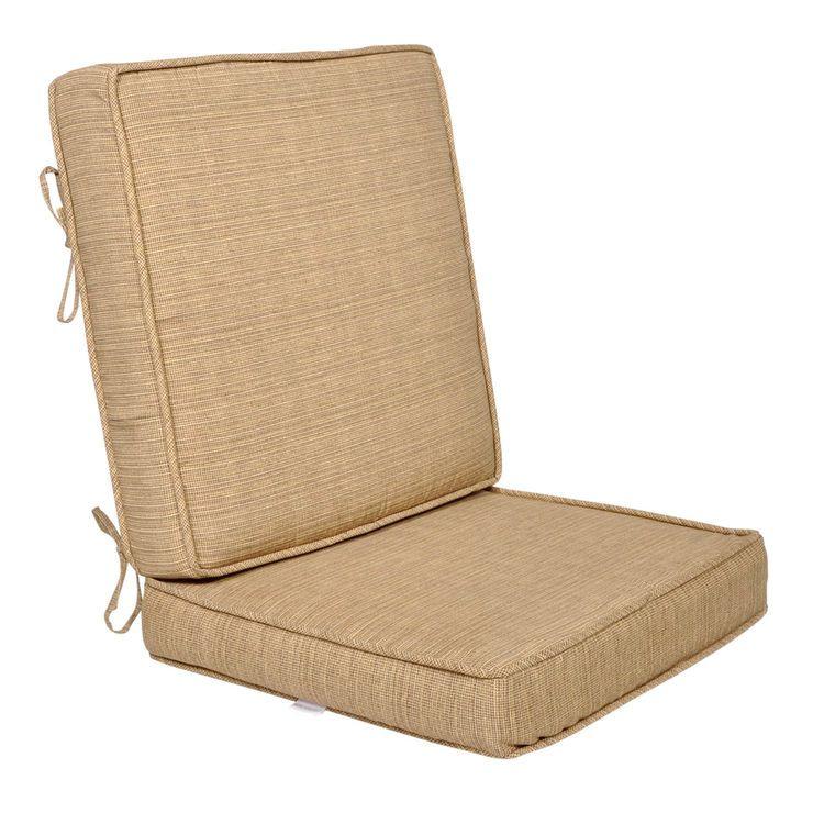 Tallon Birch 2 Piece Deep Seat Cushion Lounge Chair Cushions Deep Seating Deep Seat Cushions