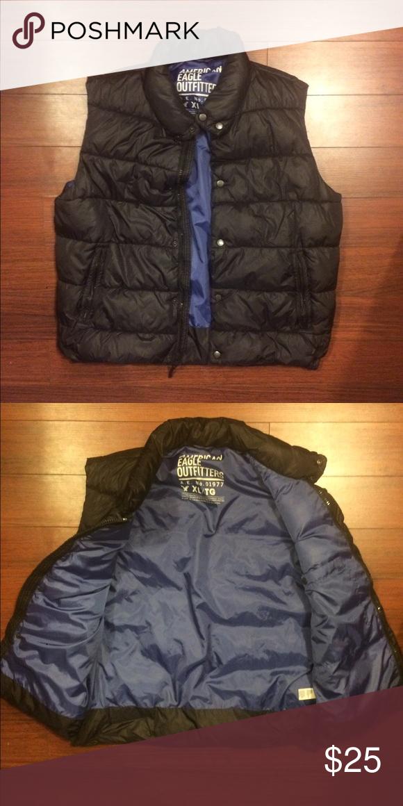 Men's American Eagle puffer vest </div>                                   </div> </div>       </div>                      </div> <div class=