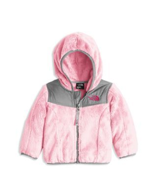 1cc09329b The North Face® Infant Girls  Oso Pile Fleece Hooded Jacket - Sizes ...