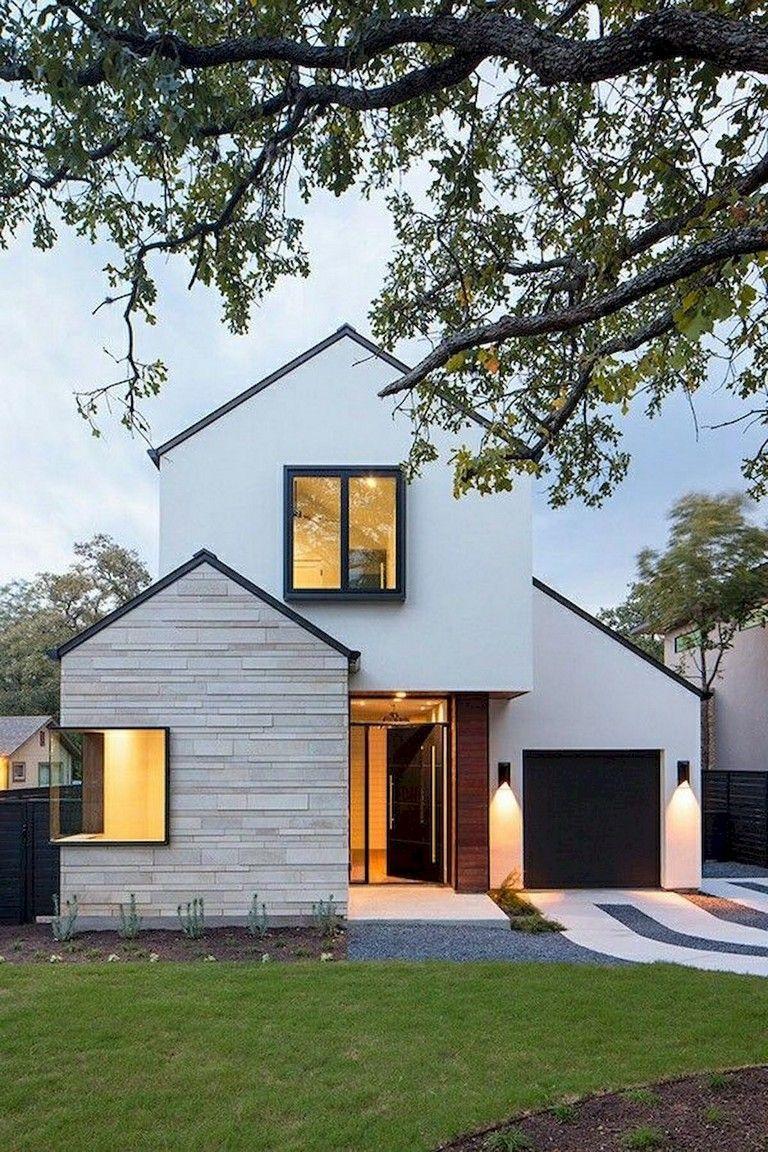 55 Incredible Scandinavian Exterior Photo Pic Page 14 Of 56 In 2020 House Exterior Black House Exterior House Designs Exterior