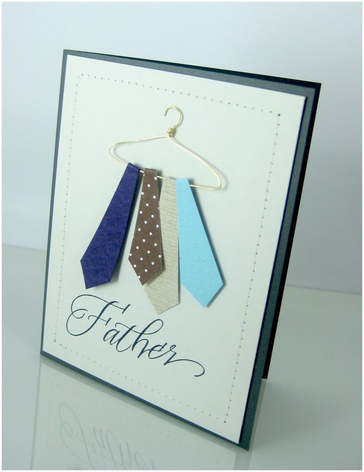pinterest cards card ideas and from damask love cute fathers day card with gauge wire hanger bookmarktalkfo Image collections