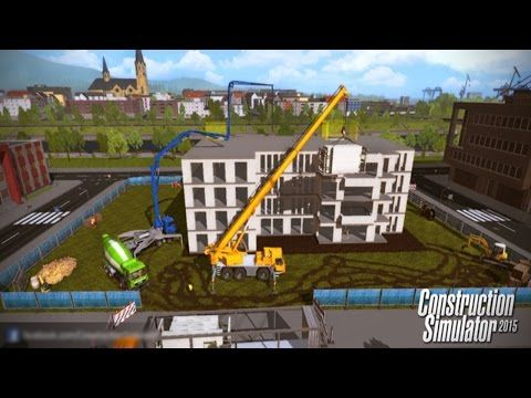 Construction Simulator 2015 - Part 1 - Gameplay Walkthrough