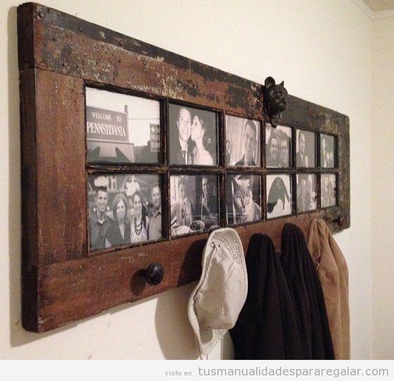 Manualidades madera reciclada con puertas antiguas 4 for Manualidades con madera vieja