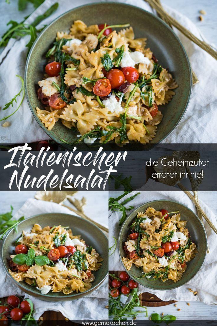 Italienischer Nudelsalat - Rezept von Gernekochen.de