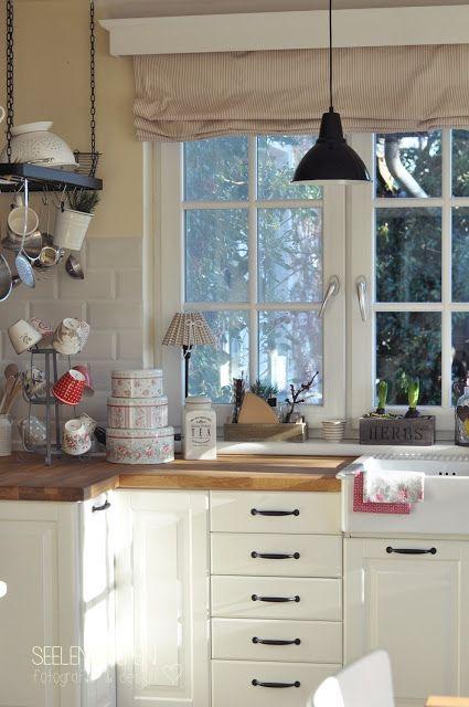white kitchen by SeelenSachen