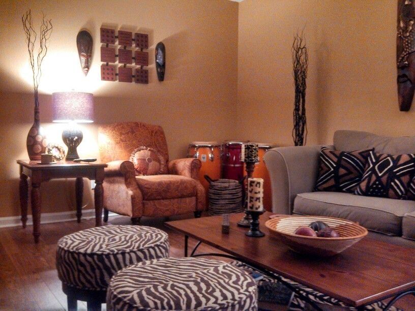 Another View Of The Living Room African Home Decor Safari Living Rooms African Decor Living Room