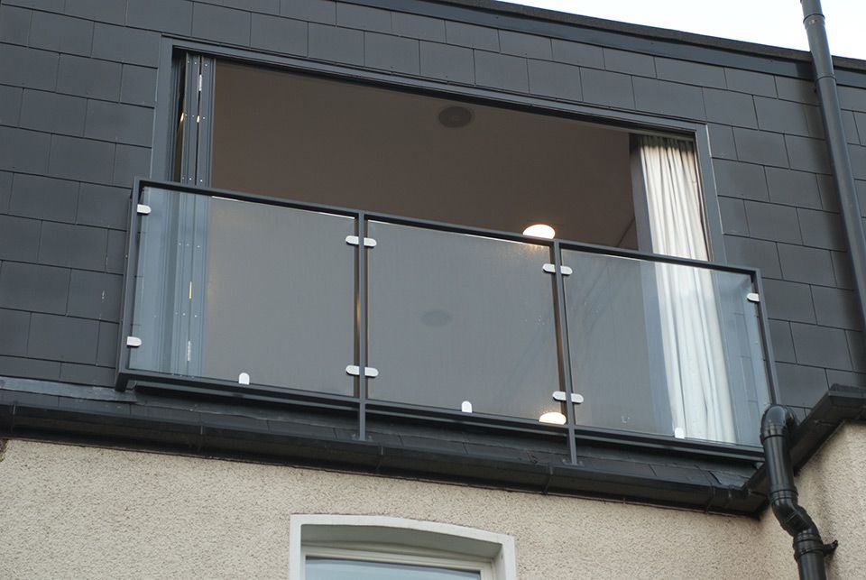 Glass Balustrade Loft Conversion South London Dormer