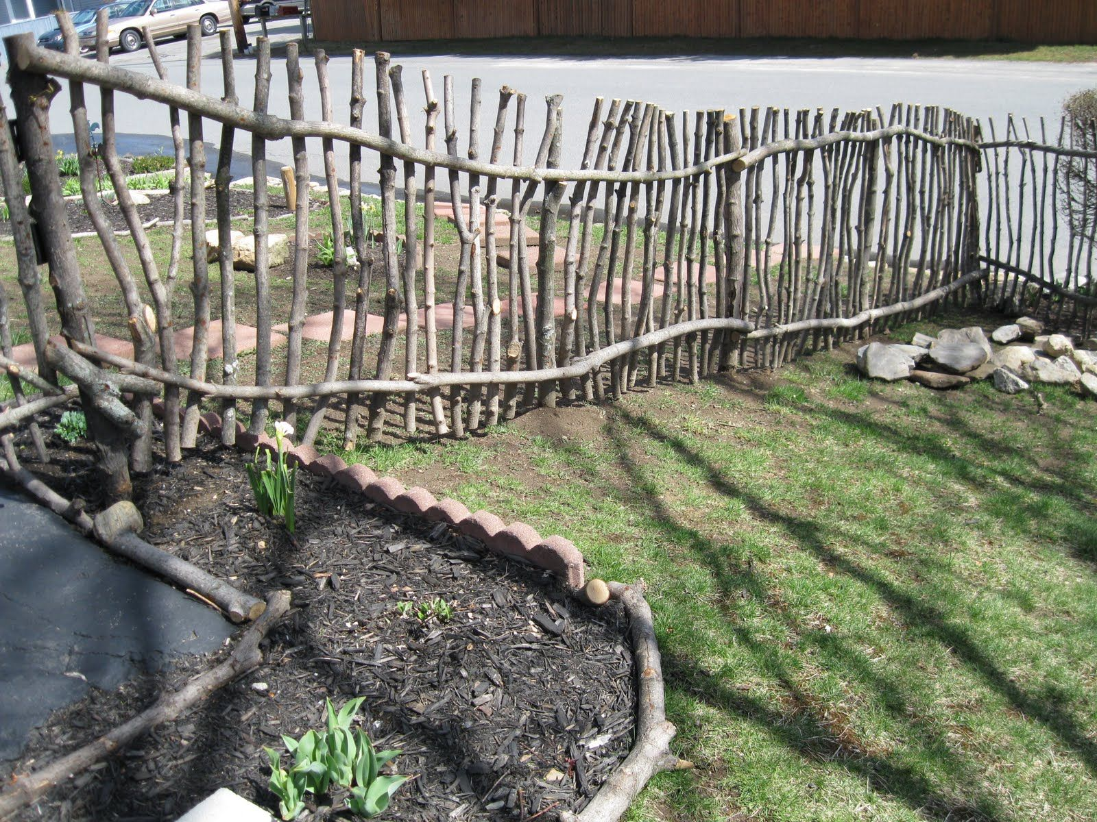 Diy Fence 141 Best Diy Gardens Yards Fences Images On Pinterest